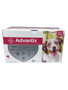 ADVANTIX CLINICO 2,5 ml.  - De 10 a 25 Kg.